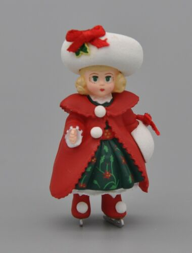 Hallmark Merry Miniatures Madame Alexander Collection Christmas Holly - 1998