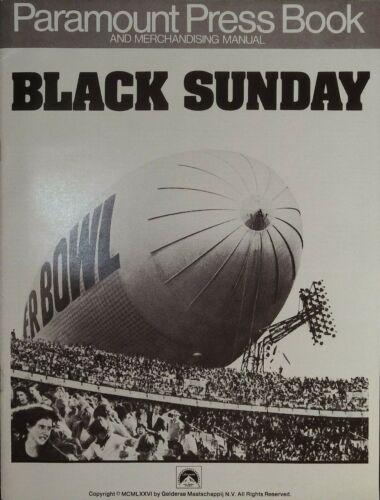 Black Sunday Pressbook 1977 Robert Shaw, Bruce Dern