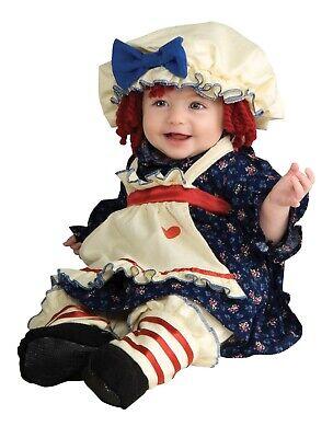 Ragamuffin Dolly Costume Raggedy Ann CHILD