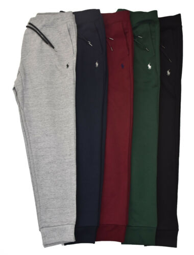 Men Polo Ralph Lauren Double Knit Sweatpant Soft Cotton Jogger - S M L XL XXL