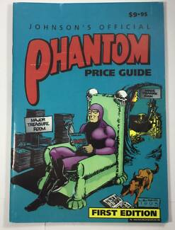 1993 The Phantom Official Price Guide Comic- First Edition