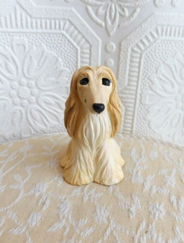 Afghan Hound Resin FureverClay Collectible FureverClay