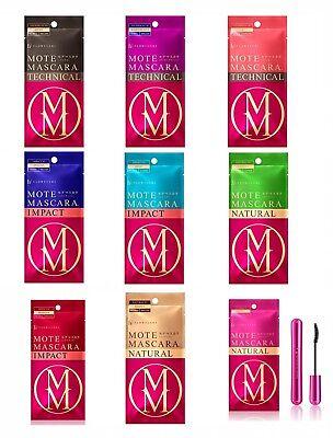 Flowfushi Mote Mascara NATURAL Impact Technical 9 variations Made in