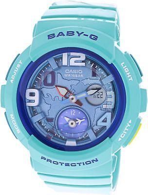 Casio Women's BGA190-3B Baby-G Analog-Digital Display Watch NEW