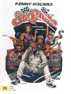 Six Pack DVD ( Diane Lane, Kenny Rogers, Erin Gray )