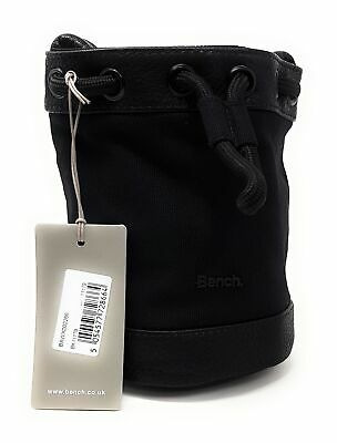 Bench Damen Tasche Handtasche Beuteltasche Umhängetasche Schwarz 13x21x18 - Handtasche Beutel