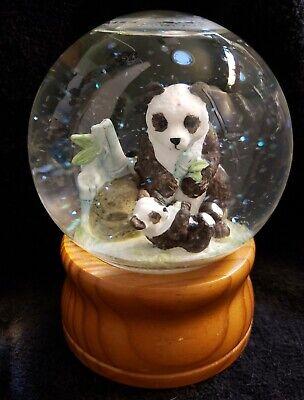 Westland Musical Panda Bear Snowglobe - Talk to the Animals