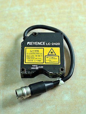 Keyence Laser Displacement Sensor Lc-2420 Free Ship