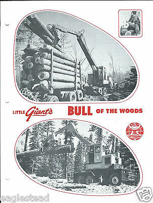 Equipment Brochure - Little Giant - Bull Of The Woods Log Loader E2944