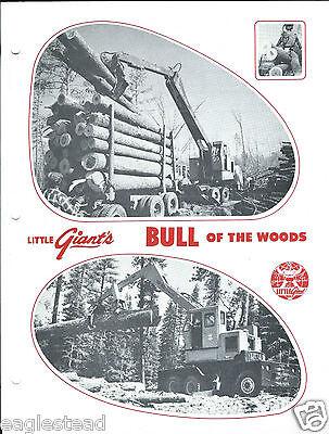 Equipment Brochure - Little Giant - Bull Of The Woods Log Loader E2944
