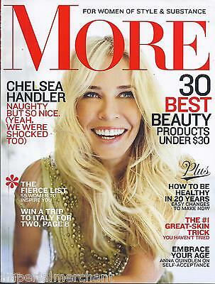 More Magazine Chelsea Handler Best Budget Beauty Products Inspiring Women