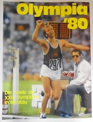 Olympia``80 - Die Spiele der XXII . Olympiade in Moskau