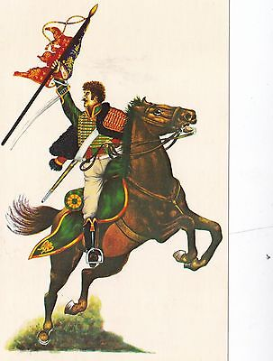 Interregnum Card No.19 Chasseur a Cheval of the Imperial Guard 1804