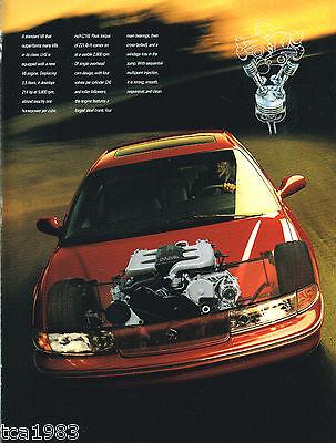 Big 1994 Chrysler LHS Dealer Sales Brochure / Catalog w/Color Chart