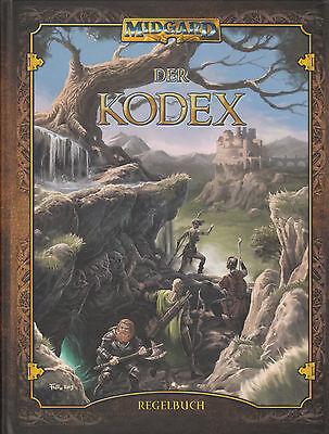 Midgard: Der Kodex, Grundregelwerk (5. Edition), Hardcover inkl. Pdf, NEU