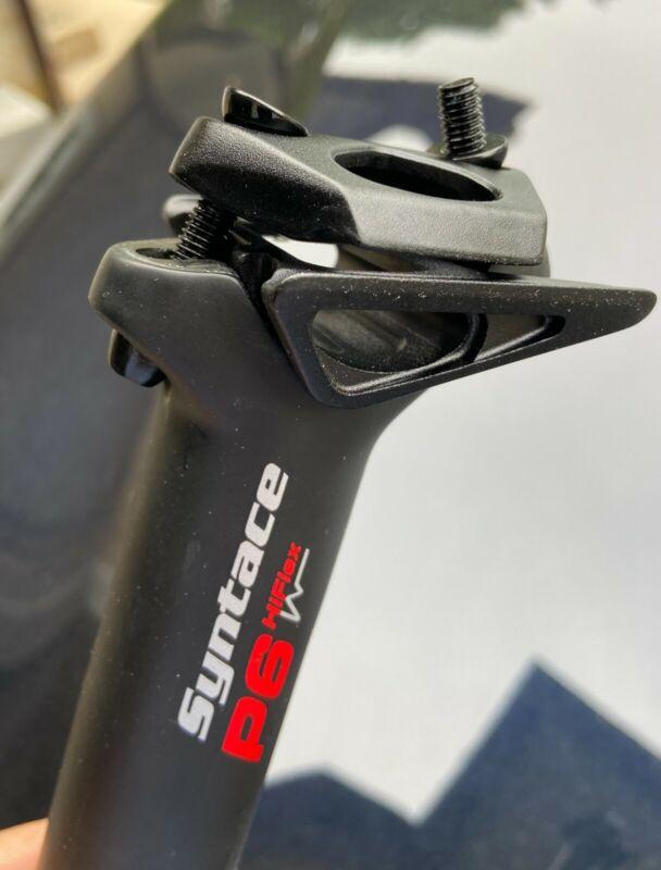 "Syntace HiFlex Full Carbon P6 Seatpost 31.6"" x 400mm"