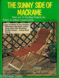 Sunny-Side-of-Macrame-patterns-HAMMOCK-sling-chair-footstool-swing-B