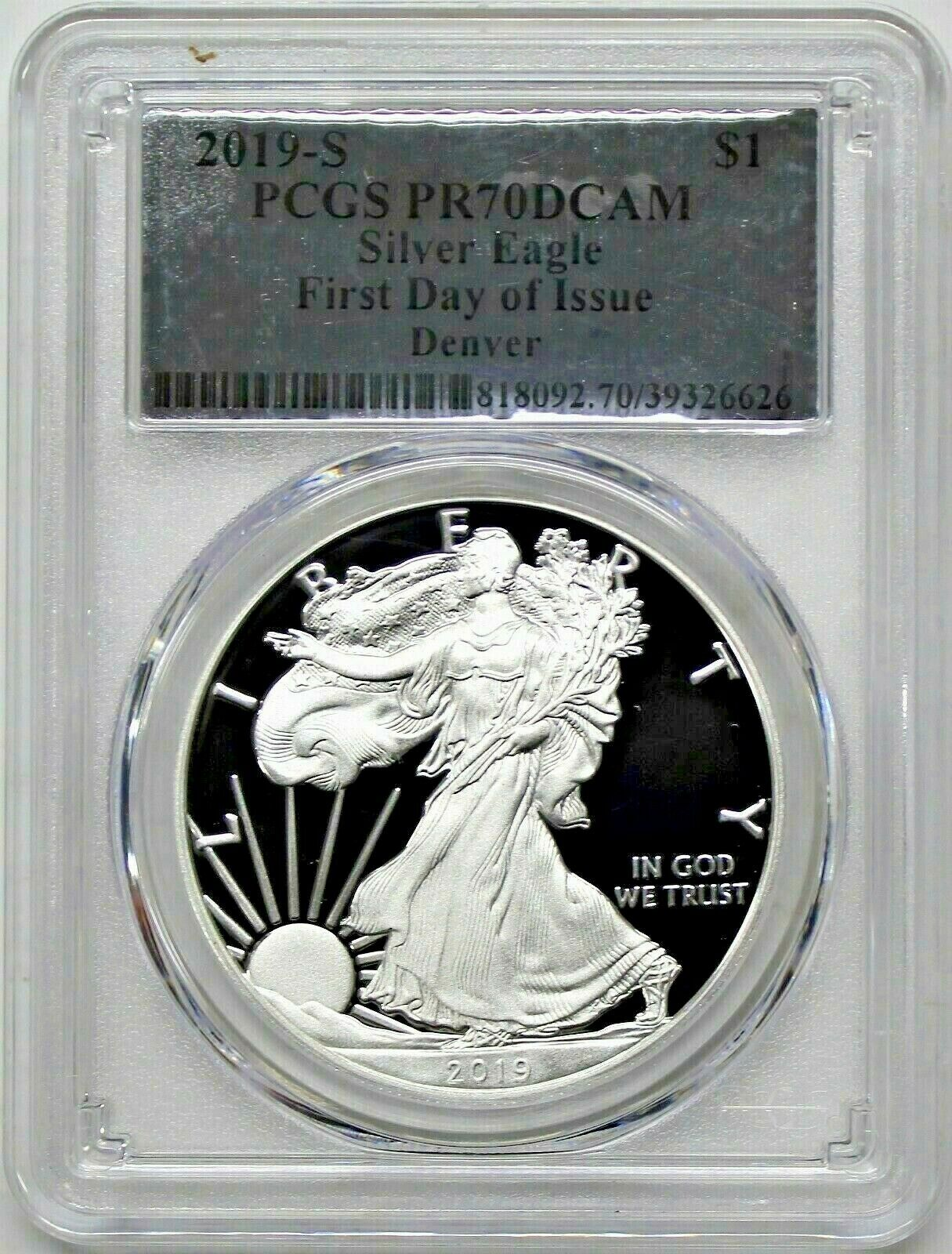 2019-S $1 American Silver Eagle Limited Edition Proof Set PR70DCAM FS PCGS