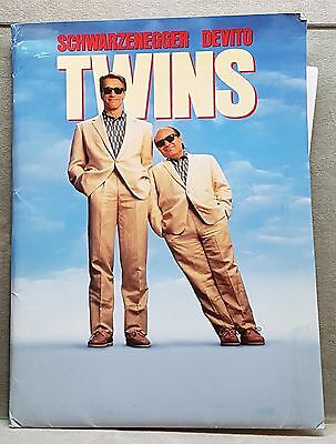 1988 Movie Press Kit Twins with Arnold Schwarzenegger and Danny Devito