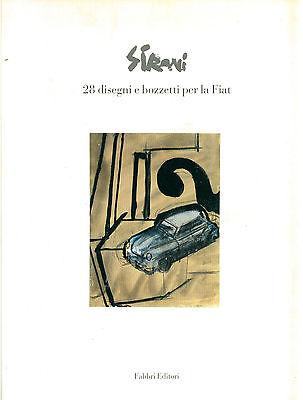 GALLO MISTRANGELO SIRONI 28 DISEGNI E BOZZETTI PER LA FIAT FABBRI 1989 AUTO