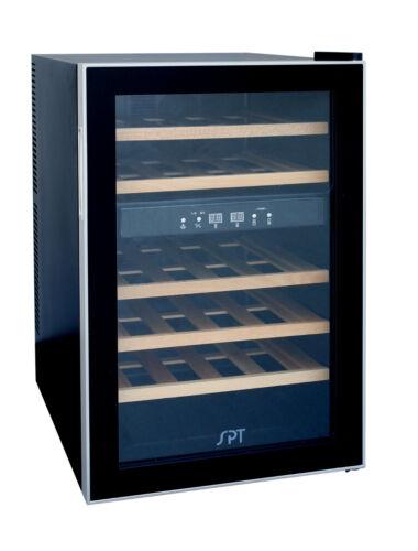 SPT 24-Bottle Wine Cooler Black WC-2463W