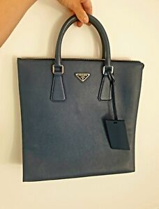New authentic men saffiano leather tote bag (RRP 2900$)