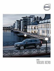 Volvo XC90 2016 catalogue brochure Slovakia Slovaquie - <span itemprop='availableAtOrFrom'> Varsovie, Polska</span> - Volvo XC90 2016 catalogue brochure Slovakia Slovaquie -  Varsovie, Polska