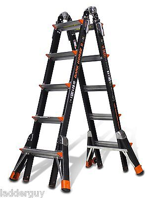 22 1a Fiberglass Little Giant Dark Horse Ladder 15145