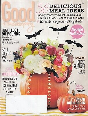 GOOD HOUSEKEEPING Magazine October 2014 Halloween Foods / 176 pages / r6](Good Halloween Food)