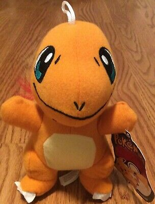 "Pokemon Stuffed Plush Toy - Charmander 6.5"" W/tag Character Plush - Toy Factory"