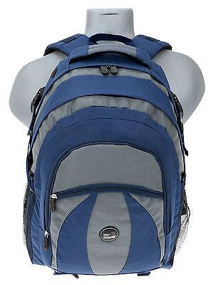 Laptop Notebook Rucksack (Rucksack Matrix Schulrucksack Reiserucksack Laptop Notebookrucksack 1036 Blau)