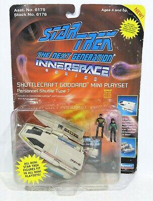 STAR TREK (TNG) Shuttlecraft Goddard Innerspace Play-set #6176 Playmates 1994
