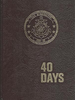 Uss Mississippi Cgn 40 Pre Com Deployment Cruise Book Year Log 1978   Navy