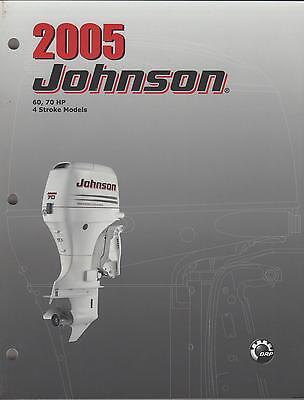 2005 Johnson Outboard 60,70 Hp 4-stroke Service Manual
