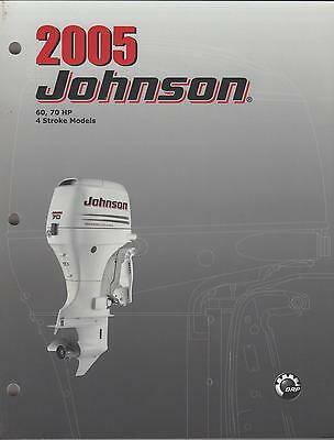 2005 Johnson Outboard 60,70 Hp 4-stroke Service Manual