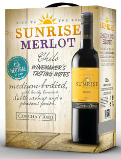 SUNRISE-MERLOT-30l-Bag-in-Box-Wein-Rotwein-Chile-Concha-Y-Toro