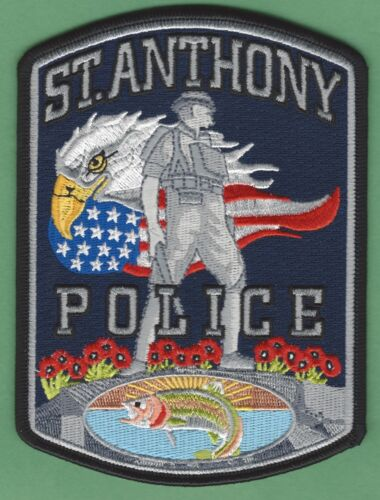 ST. ANTHONY IDAHO POLICE SHOULDER PATCH