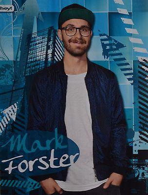 MARK FORSTER - A4 Poster (ca. 21 x 28 cm) - Clippings Fan Sammlung NEU