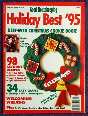 1995 🌼BEST EVER CHRISTMAS COOKIE🌼 Good Housekeeping SC Cookbook **98