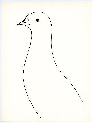 Pablo Picasso lithograph, 1957