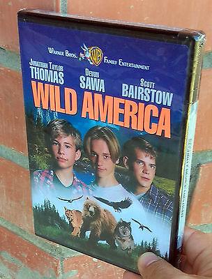 Wild America (DVD, 1997) Brand New! Region 1 / Factory sealed / No DVD-R