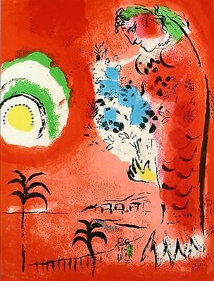 Marc Chagall - The Bay of Angels (M.286) - Original Mourlot Color Lithograph