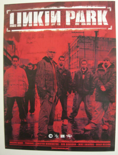 LINKIN PARK HYBRID THEORY PROMO POSTER 2000