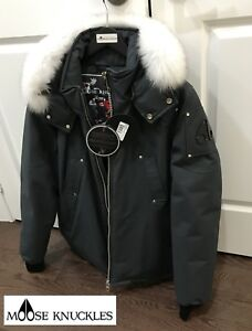 Moose Knuckles Bomber Canuck XL (Tags New)