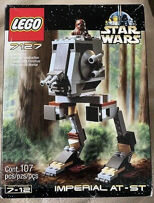 New LEGO Star Wars 7127 Imperial AT-ST Set - Unopened Box