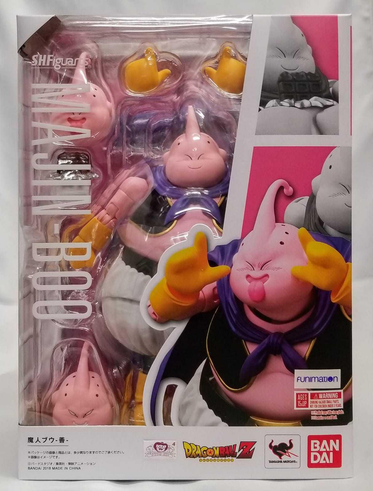 Купить Bandai - New Bandai Tamashii S.H Figuarts Dragonball Z Majin Boo Buu USA