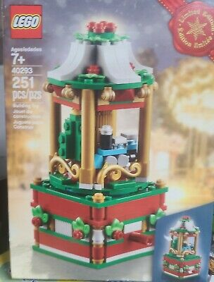 New Lego Christmas/Holiday Music Box Train/Tree **SPINS** #40293 (251 pcs)