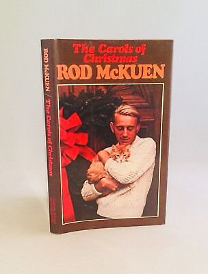 The Carols of Christmas-Rod McKuen-SIGNED-DATED-DRAWING-TRUE First/1st Edition ()