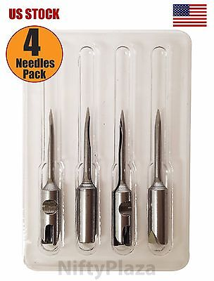 4 Pack Needles For Avery Dennison Fine Fabric Mark Iii Tagging Gun 08944 Metal