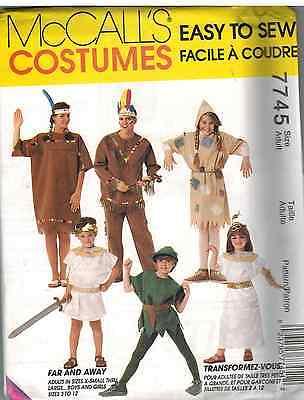 ccalls Nähmuster Halloween Kostüm Indisch Ägyptische Kinder (Vintage Halloween Kostüme Kinder)